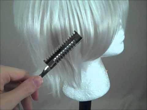 Tutorial Using A Hair Shaping Razor Youtube