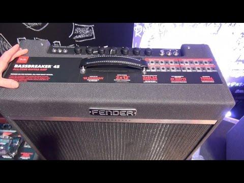 [NAMM] Fender BassBreaker