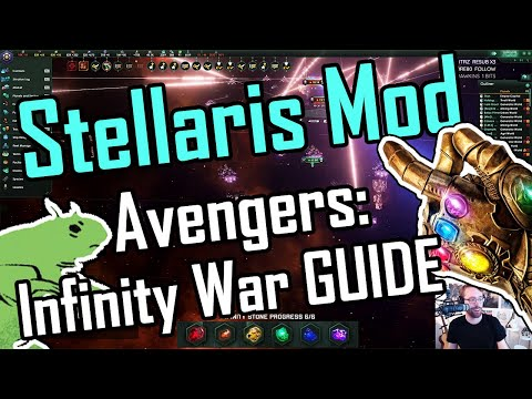 Stellaris: Infinity War! Full Guide To Mod - Setup, Factions And Races (2.3)