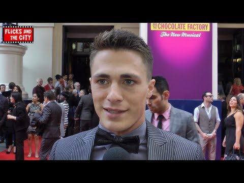 Colton Haynes Interview - Arrow & Charlie and the Chocolate Factory