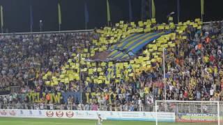 ФК Ростов - Андерлехт 2:2 иллюминация болельщиков баннер фанатов