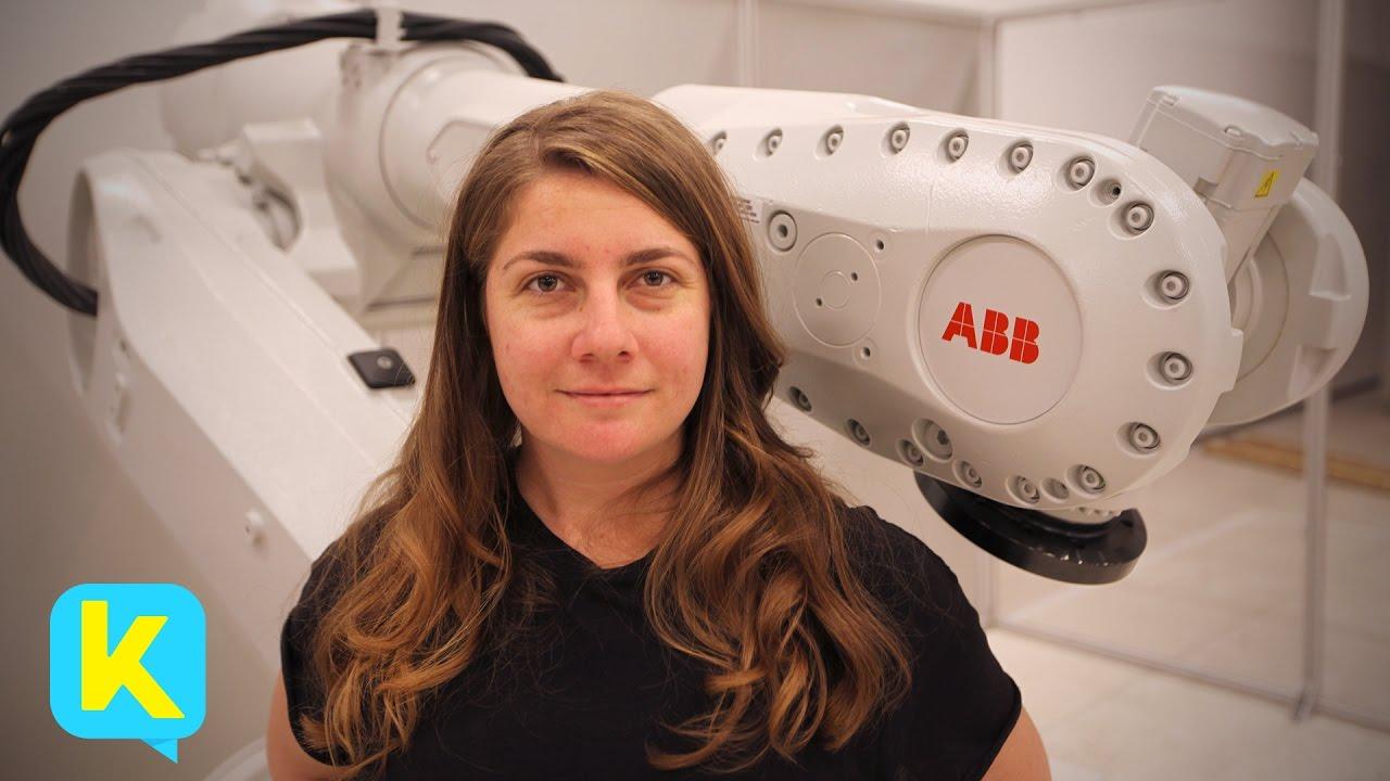 Kidspiration Meets 'Robot Whisperer' Madeline Gannon!