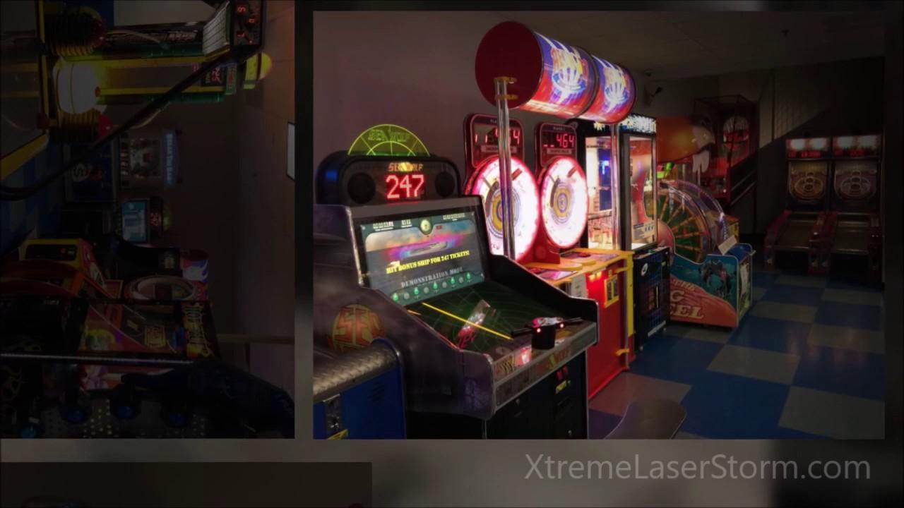 Xtreme Laser Storm:-
