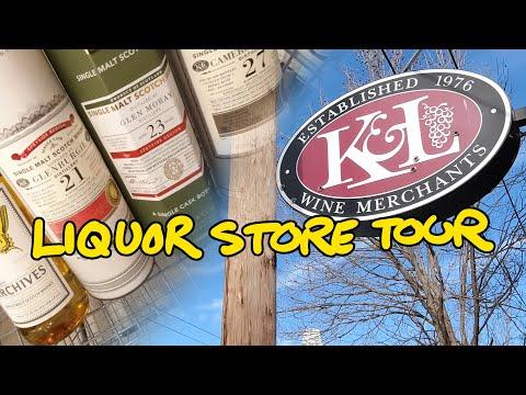 K&L, CA Liquor Store Tour & Whisky Chat - Whisky Vlog