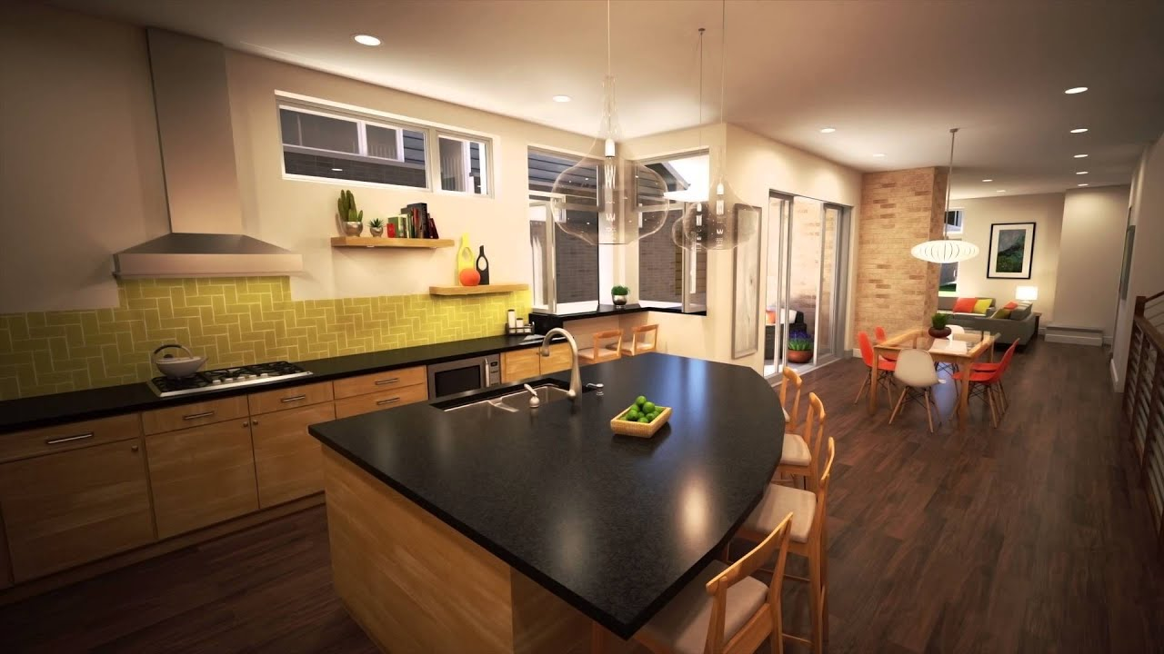 Thrive home builders elate floor plan at boulevard one for Thrive homes denver