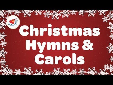 Christmas Hymns and Carols Playlist   Best 32 Christmas Songs Lyrics