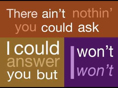 Aretha Franklin Think Lyric