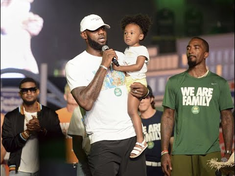 LeBron James calls out President Trump during foundation event at Cedar Point