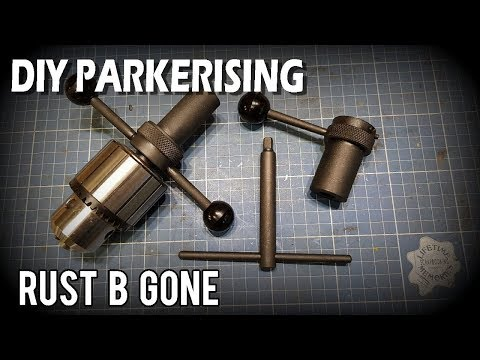 DIY Parkerising in the home shop