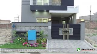 5 MARLA BRAND NEW HOUSE FOR SALE IN GREEN CITY LAHORE