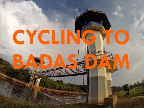 Cycling at Empangan Air Badas