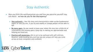 Cyber Security Career Development: Personal Branding