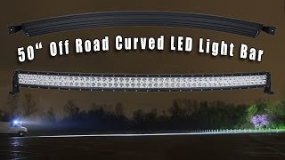 видео led light bar offroad
