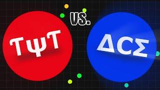 ƭψƭ vs δcσ clan agario clanwar agar io gameplay