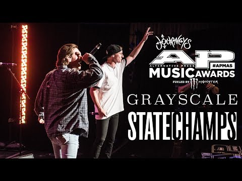State Champs, Grayscale (Live APMAs 2017) Punk Goes Pop Hits