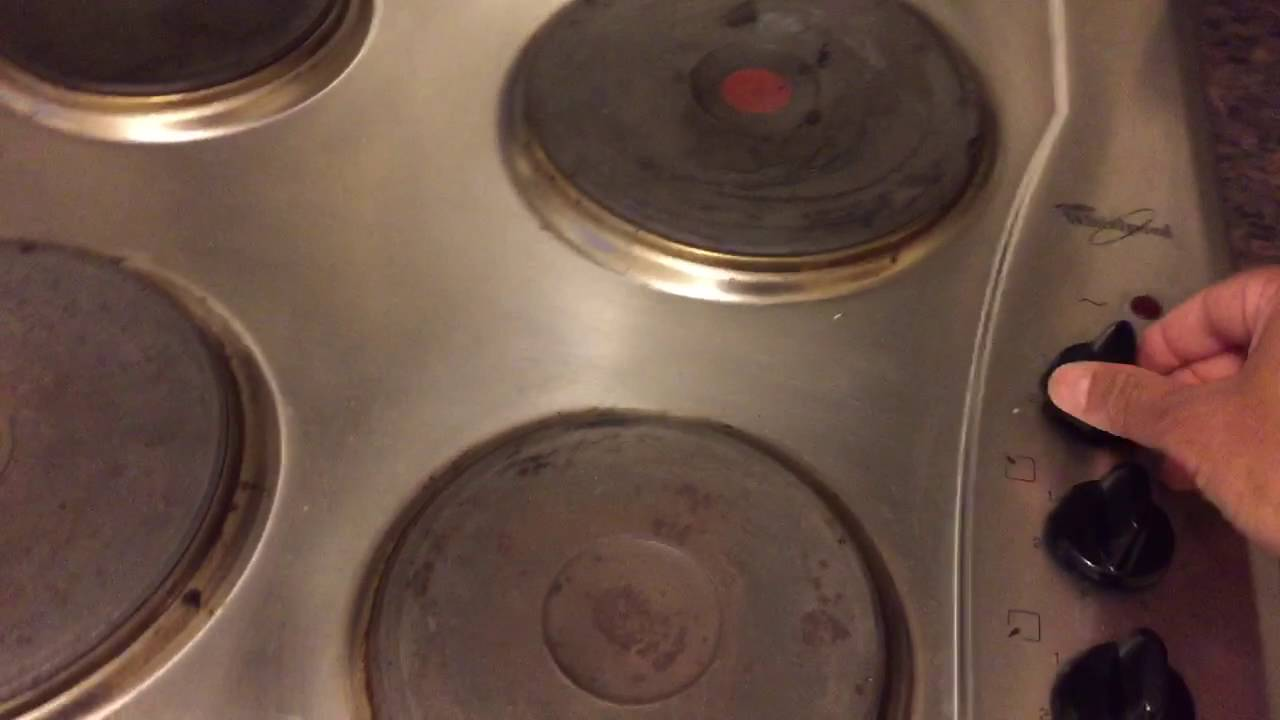 Hob In Kitchen Electric Hob Cooking Plate Cooker Usage