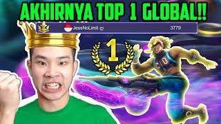 CARA MAIN TOP 1 GLOBAL BOSS!! - Mobile Legends