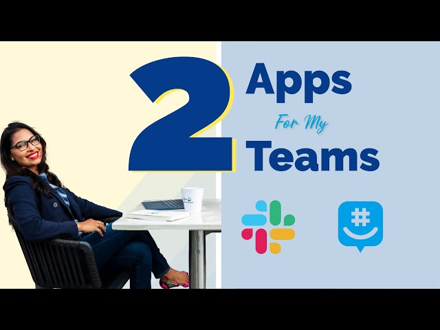 TWO APPS That I Use to Manage My TWO TEAMS