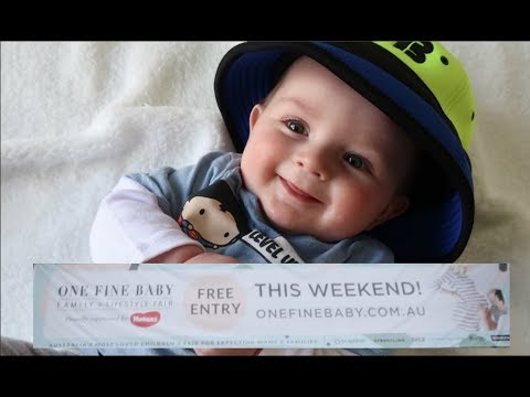 ONE FINE BABY EXPO MELBOURNE | DAILY VLOG