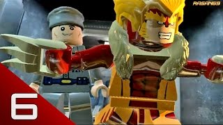 LEGO Marvel Super Heroes (PC) walkthrough part 6 (Rock Up at the Lock Up 1/2)