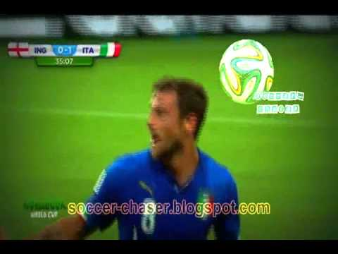 England vs Italy 1-2 highlights 2014 FIFA World cup Brazil