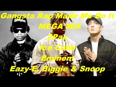 2Pac - Gangsta Rap Made Me Do It (ft. Ice Cube, Eminem, Snoop Dogg, Eazy E, Biggie,)