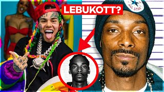 6IX9INE LEBUKTATTA SNOOP DOGG-OT! (Ő IS KÖPÖTT?)