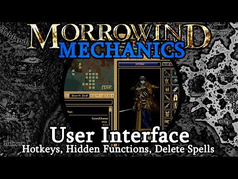 User Interface (PC) - Morrowind Mechanics
