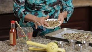 Spicy Roasted Pumpkin Seed Recipe : Salad Dressing & Healthy Eating
