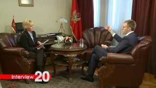 Interview 20 - Igor Luksic, ministar vanjskih poslova i europskih integracija Crne Gore TRAILER