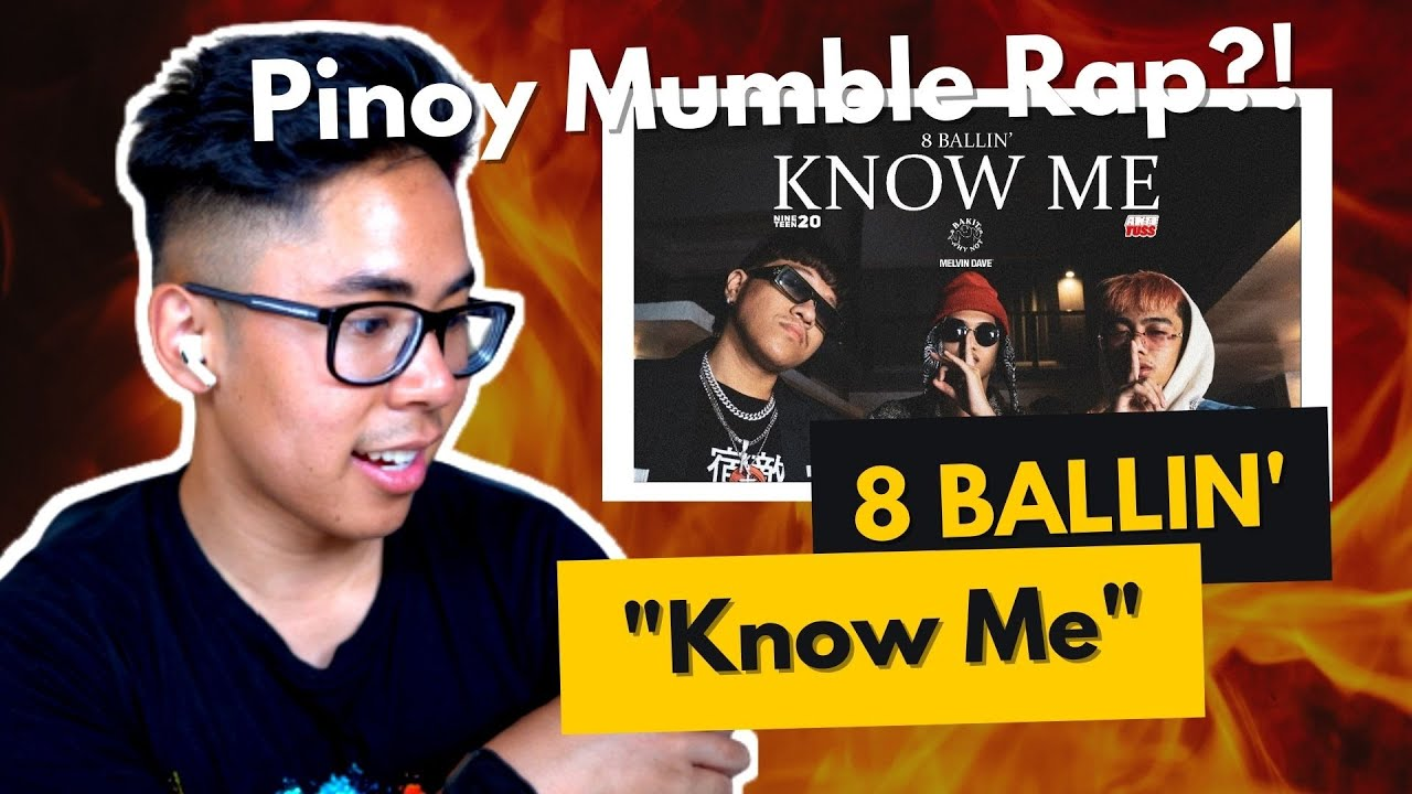 FILIPINO REACTS TO 8 BALLIN' - KNOW ME (Official Music Video) [Prod. by zp3nd]