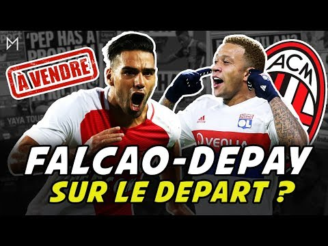Monaco met Falcao en vente, Depay est promis au Milan AC | Daily Morning 05/06