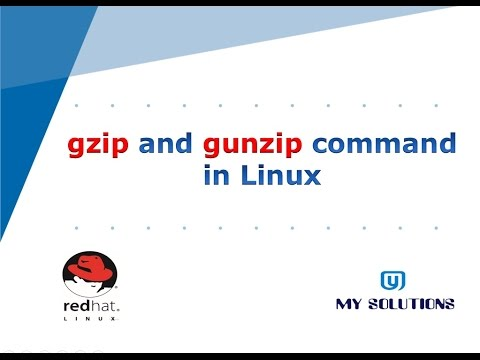 Linux Tutorial for beginnerrs in HINDI - gzip and gunzip