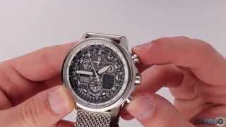 WatchO.co.uk - Citizen Navihawk Pilot Watch JY8030-83E | Unboxing & Close Look