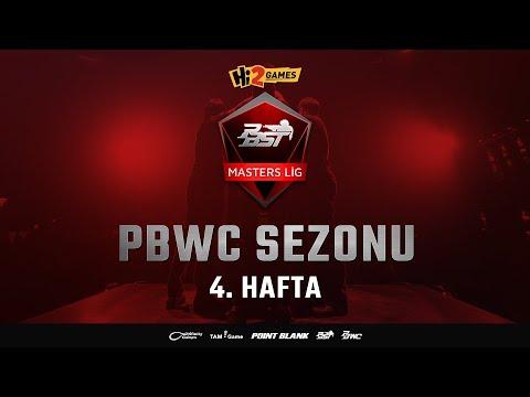 Hi2Games PBST 2018 PBWC Sezonu - Masters Lig 4. Hafta - Point Blank