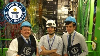 60 Years of CERN and Guinness World Records