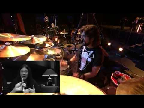 Mike Mangini on playing Mike Portnoy drum parts