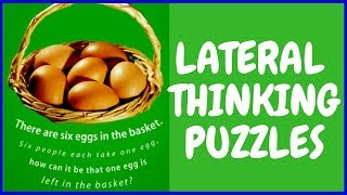 LATERAL THINKING #PUZZLES WITH ANSWERS