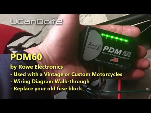 PDM60   Fuse solution for Vintage Motorcycles
