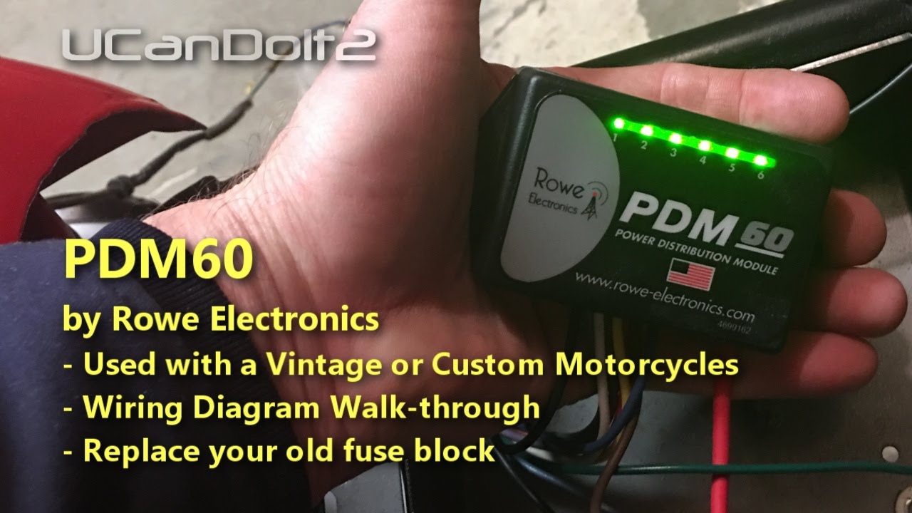 small resolution of pdm60 fuse solution for vintage motorcycles youtubeyoutube premium