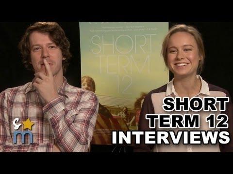 Brie Larson & John Gallagher Jr Talk SHORT TERM 12 Characters, Drama & More  Exclusive