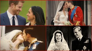 Six royal weddings in one to mark Harry and Meghan's big day