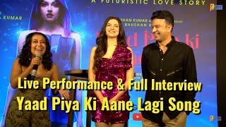 Neha Kakkar Live Performance Yaad Piya Ki Aane Lagi Song - Divya Khosla Kumar - Success Celebration
