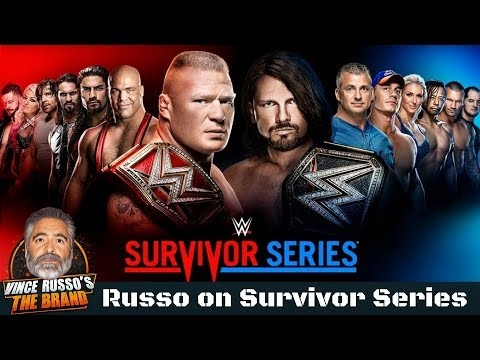 Vince Russo on WWE Survivor Series and His Denver Radio Show on Sunday