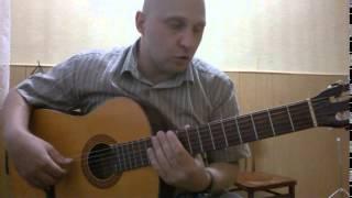 Уроки гитары.Простая мелодия.Молодой рокер
