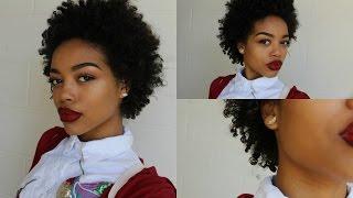 how i define my curls   twa awkward length 3c 4a hair
