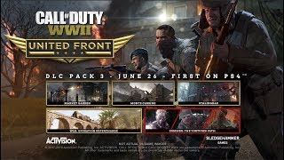 Call of Duty  WW2 - United Front Pack 3 Trailer