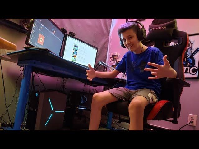 14 Year Olds $15,000 Fortnite Setup