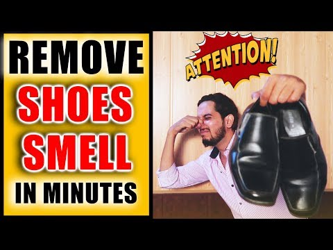 Remove SMELL from shoes Fast | SHOCKING RESULTS