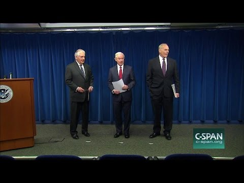 Trump Administration Officials Unveil Revised Travel Ban (C-SPAN)